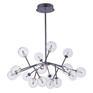 Corrigan Studio Ledo 16-Light LED Sputnik Chandelier