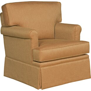 Loose Pillow Back Swivel Armchair by Fairfield Chair