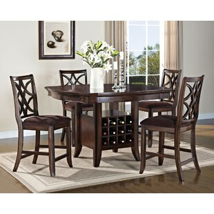 World Menagerie Cora Modish Counter Height Dining Table