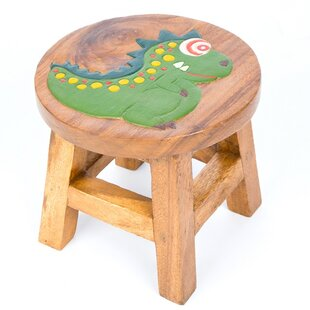 Dinosaur Children's Stool By Just Kids
