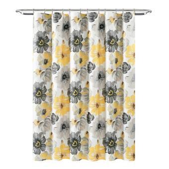 The Holiday Aisle Nishi Autumn Wishes Single Shower Curtain Wayfair
