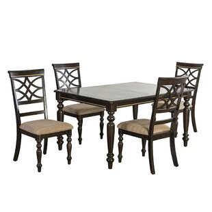Entrekin 5 Piece Dining Set by Charlton H..
