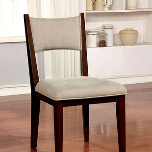Kauffman Upholstered Dining Chair (Set of 2) Brayden Studio