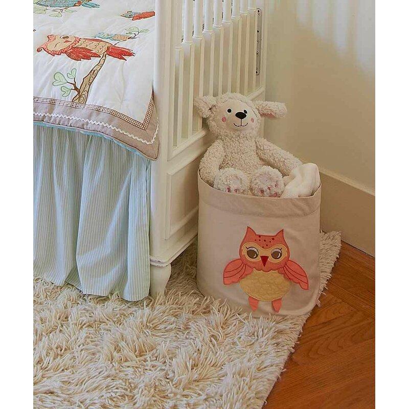 The Little Acorn Baby Owls Toy Storage Bin & Reviews | Wayfair