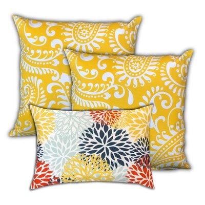 Mirabeau Pineapple Islands Indoor / Outdoor Pillow by Red Barrel Studio Best Design