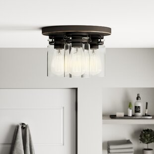 Sue 3-Light Flush Mount