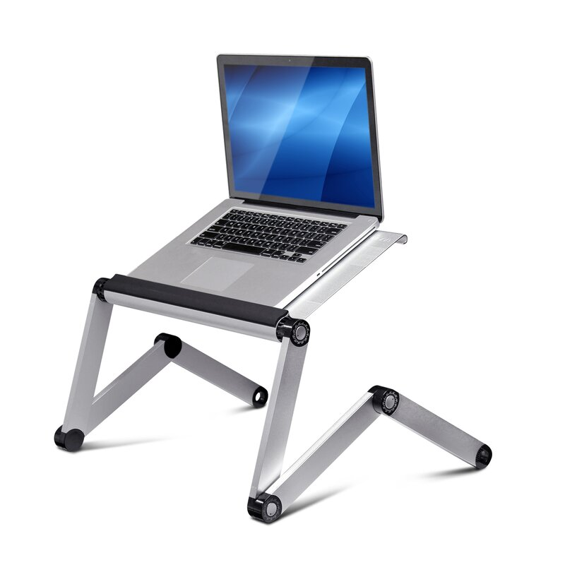 High Quality Vented Laptop Table / Portable Bed Tray Book Stand