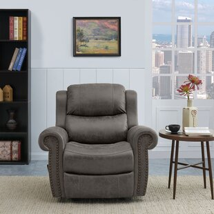 Brooker Manual Rocker Recliner by Canora Grey