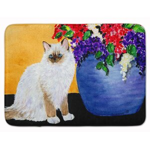 Cat Ragdoll Memory Foam Bath Rug