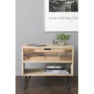 Maddock End Table with Storage
