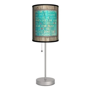 Read Reviews Sunshine Love Song 20 Table Lamp By Lamp-In-A-Box