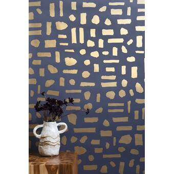 Bay Isle Home Mcmahan Flamingos 48 L X 24 W Paintable Peel And Stick Wallpaper Panel Wayfair