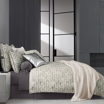 Orizaba Reversible Comforter Set Wrought Studio