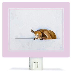 Oopsy Daisy Baby Fawn by Cathy Walters Canvas Night Light