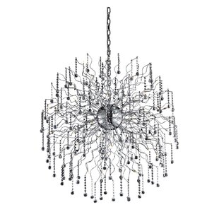 Verda 44-Light Sputnik Chandelier by Everly Quinn