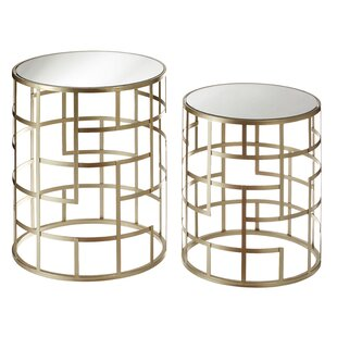 Lizeth Side Table (Set Of 2) By Canora Grey