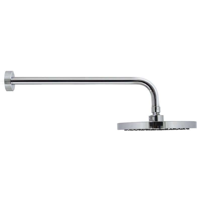 Modona Rain Shower Head and Long Shower Arm with Flange | Wayfair