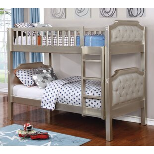Check Prices Elko Twin over Twin Bunk Bed by Harriet Bee Reviews (2019) & Buyer's Guide