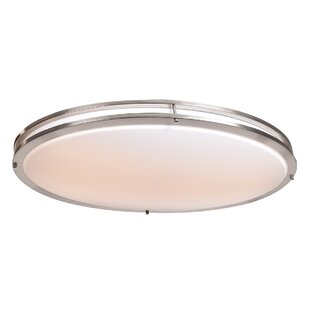 Bausman LED Outdoor Flush Mount