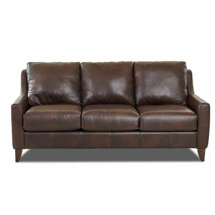 Haleigh Leather Sofa
