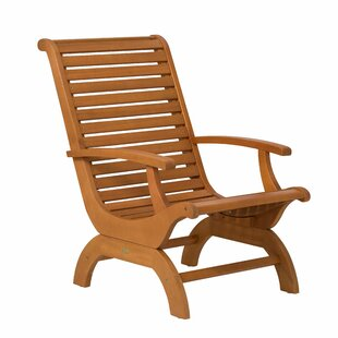 Lankheit Eucalyptus Plantation Patio Chair by August Grove Purchase