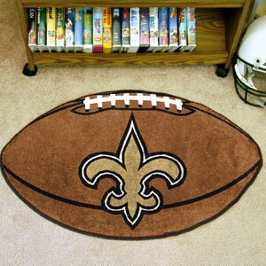 NFL - New Orleans Saints Football Mat By FANMATS