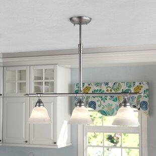 kitchen island lighting rh wayfair ca burner 3 light kitchen island pendant 3 light kitchen island pendant lighting