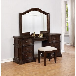 Darby Home Co Aminah Vanity Set with Mirror