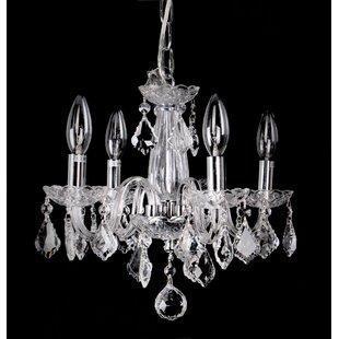 House of Hampton Corvin 4-Light Candle Style Chandelier