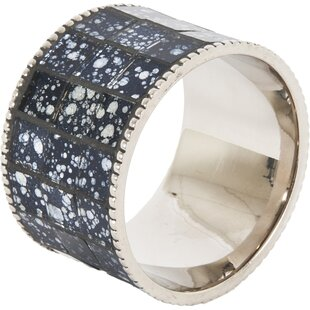 Mosaic Design Napkin Ring (Set of 4)