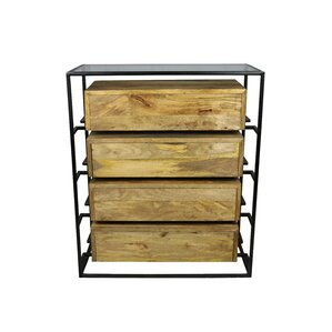 Sonia 4 Drawer Chest by Union Rustic