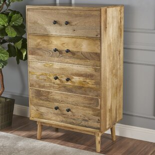 Union Rustic Thayer 4 Drawer Standard Chest