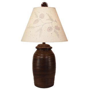 Laila Aspen Ribbed Pot 27 Table Lamp