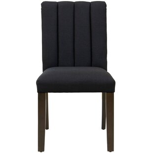 Emile Channel Seam Upholstered Dining Chair by Brayden Studio