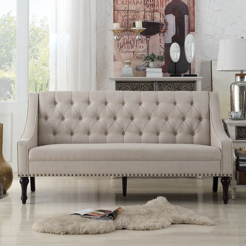 in dining products modshop dsc tufted loveseat linen florence
