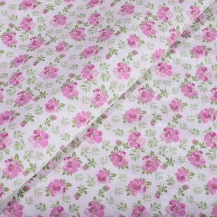 Colan 144 Thread Count Floral/Flower 100% Cotton Sheet Set by Rosalind Wheeler Looking for