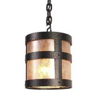 Read Reviews Portland 1-Light Outdoor Hanging Lantern By Steel Partners
