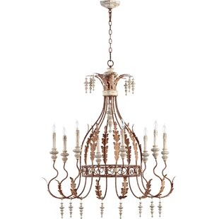 Quorum La Maison 8-Light Chandelier