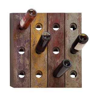 12 Bottle Wall Mounted Wine Rack by Urban..