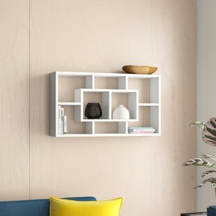 Tiffany 8 Compartment Floating Shelf By Zipcode Design