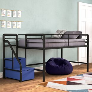 Bewley Junior Twin Loft Bed with Storage