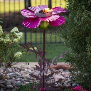 Desert Steel Cosmos Garden Torch