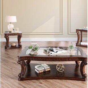 Astoria Grand Rowlett 2 Piece Coffee Table Set