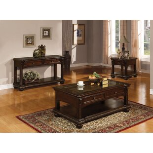 Anondale 3 Piece Coffee Table Set