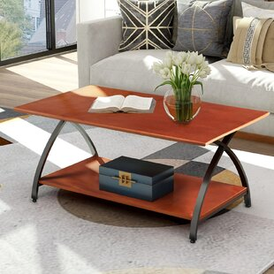 Clarksville Coffee Table With Storage By Brayden Studio