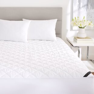 Alwyn Home Lorelei Cotton Down Alternative Mattress Pad