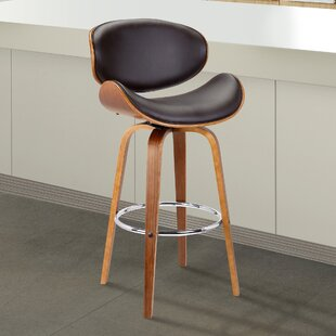 Chagoya Swivel Bar Stool George Oliver