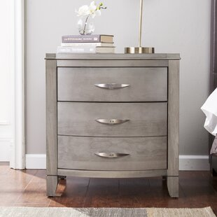 Compare Cuddy 2 Drawer Nightstand by Red Barrel Studio