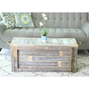Affordable Price Melson Trunk Coffee Table By Gracie Oaks