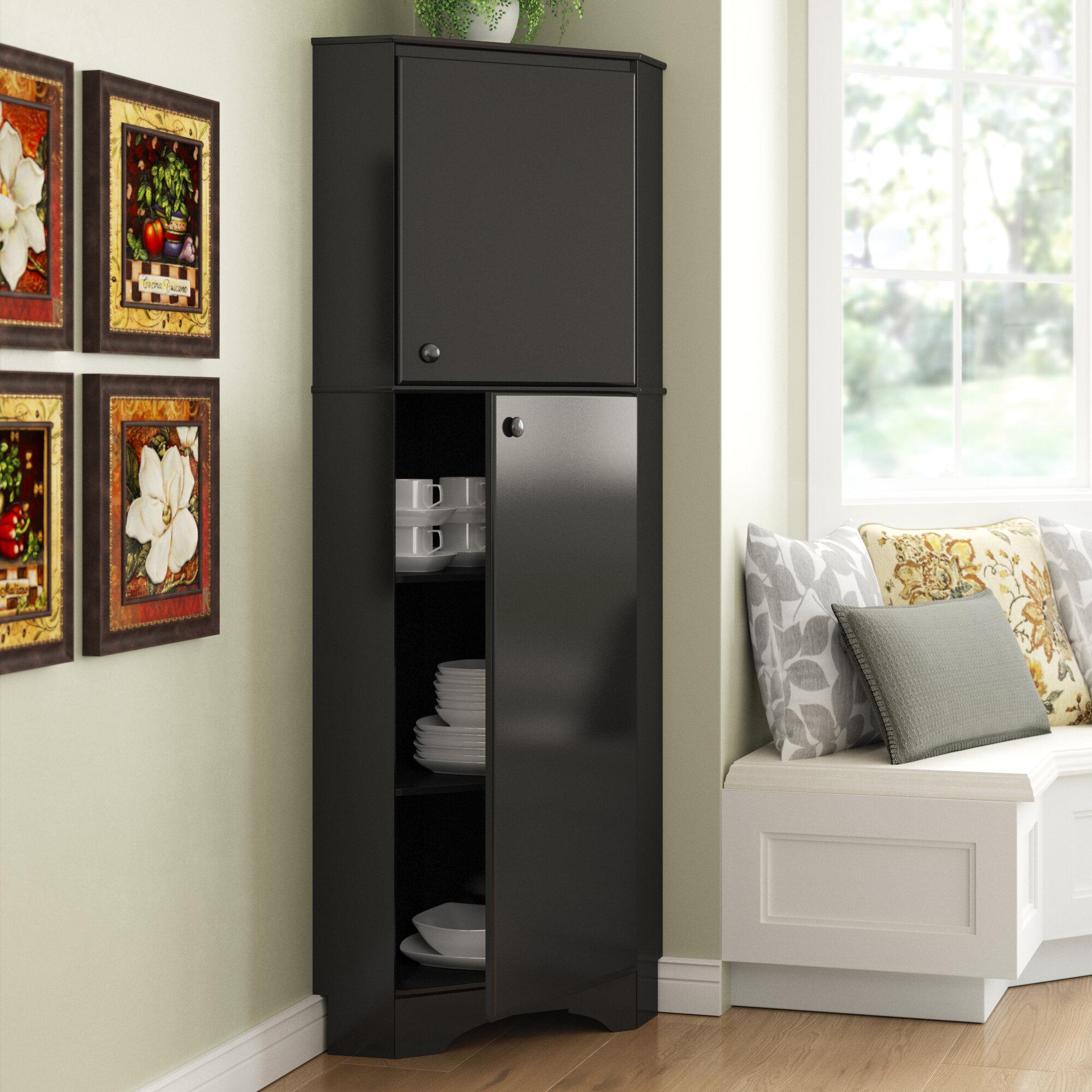 Wfx Utility 72 H 2 Door Corner Storage Cabinet Reviews Wayfair